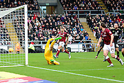 Northampton Town Midfielder John-Joe O'Toole opens the scoring  during the Sky Bet League 2 match between Northampton Town and York City at Sixfields Stadium, Northampton, England on 6 February 2016. Photo by Dennis Goodwin.