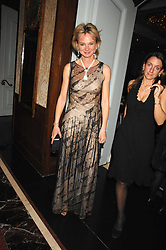 The COUNTESS OF DERBY at the 17th annual Cartier Racing Awards 2007 held at the Four Seasons Hotel, Hamilton Place, London on 14th November 2007.<br /><br />NON EXCLUSIVE - WORLD RIGHTS