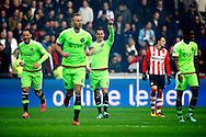 20-03-2016 VOETBAL:PSV-AJAX:EINDHOVEN<br /> Arek Milik van Ajax viert zijn doelpunt<br /> <br /> Foto: Geert van Erven