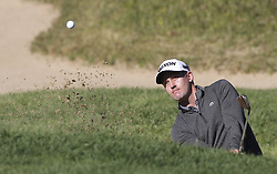 October 20, 2018 - Jeju, SOUTH KOREA - Oct 20, 2018-Jeju, South Korea-ANDREW PUTNAM of USA action on the 3th bunker during the PGA Golf CJ Cup Nine Bridges Round 3 at Nine Bridges Golf Club in Jeju, South Korea. (Credit Image: © Ryu Seung-Il/ZUMA Wire)
