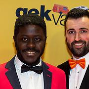 NLD/Amsterdam/20180212 - Premiere Gek op Oranje, Andre Dongelmans en .........