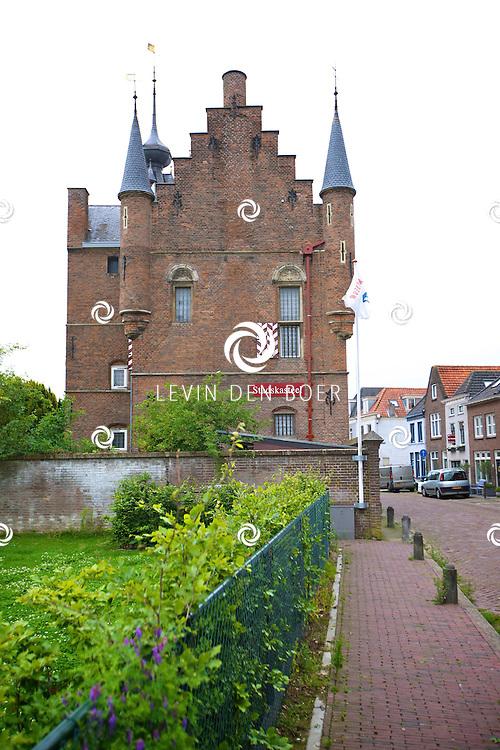ZALTBOMMEL - De binnenstad van Zaltbommel heeft zeer bijzonder mooie plekken om te bekijken. FOTO LEVIN DEN BOER - PERSFOTO.NU