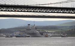 HMS Queen Elizabeth_Forth_23-05-2019<br /> <br /> (c) David Wardle   Edinburgh Elite media
