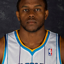 October 1, 2012; Westwego, LA, USA; New Orleans Hornets small forward Darius Miller (2) poses for a portrait during Media Day at the Alario Center. Mandatory Credit: Derick E. Hingle-US PRESSWIRE