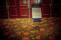 Attendance was up this year at the Conservative Political Action Conference in Washington, DC on February 18, 2010.