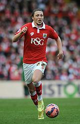 Bristol City's Luke Ayling - Photo mandatory by-line: Dougie Allward/JMP - Mobile: 07966 386802 - 25/01/2015 - SPORT - Football - Bristol - Ashton Gate - Bristol City v West Ham United - FA Cup Fourth Round