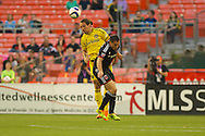 DC United defeated the Columbus Crew 2-0 at RFK Stadium in Washington D.C. in front of 13,107 fans  to extend their unbeaten streak to six.