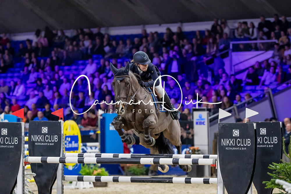 Poels Zara, BEL, High Five<br /> Jumping Mechelen 2019<br /> © FEI/Dirk Caremans<br />  30/12/2019