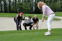 Golf Promotion Photographers in Dublin, Ireland.     Joanne Davidson,.Fergal McParland, .Michael Donnelly, .Leah Kenny,.