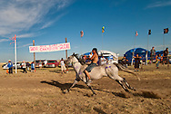 Fort Belknap Indian Reservation, Milk River Memorial Horse Races, Painted Horse Relay, Nolan Werk, winner, finish