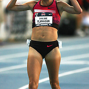 FLANAGAN - 13USA, Des Moines, Ia. - Shalane Flanagan won the 10,000 on a hot and humid night in Des Moines. Photo by David Peterson