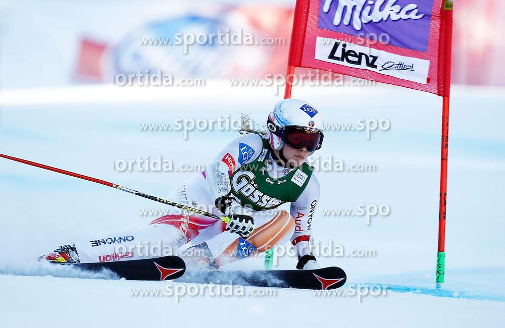 28.12.2013, Hochstein, Lienz, AUT, FIS Weltcup Ski Alpin, Damen, Riesenslalom 2. Durchgang, im Bild Tina Weirather (LIE) // Tina Weirather of (LIE) during ladies Giant Slalom 2 nd run of FIS Ski Alpine Worldcup at Hochstein in Lienz, Austria on 2013/12/28. EXPA Pictures © 2013, PhotoCredit: EXPA/ Oskar Höher