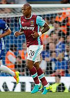 Football - 2016/2017 Premier League - Chelsea V West Ham United. <br /> <br /> Andre Ayew of West Ham at Stamford Bridge.<br /> <br /> COLORSPORT/DANIEL BEARHAM