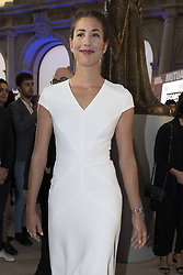 May 3, 2019 - Madrid, Spain - Spanish tennis players Garbine Muguruza to the party  presentation of the Mutua Madrid Open 2019, at the Prado Museum in Madrid, Spain, 03 May 2019. The Mutua Madrid Open runs from 3 until 12 May 2019. (Credit Image: © Oscar Gonzalez/NurPhoto via ZUMA Press)