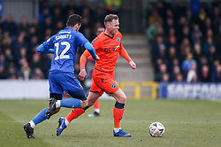 Aiden O'Brien of Millwall on the ball - Mandatory by-line: Arron Gent/JMP - 16/02/2019 - FOOTBALL - Cherry Red Records Stadium - Kingston upon Thames, England - AFC Wimbledon v Millwall - Emirates FA Cup fifth round proper