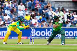 Aiden Markram of South Africa is stumped by Alex Carey of Australia - Mandatory by-line: Robbie Stephenson/JMP - 06/07/2019 - CRICKET - Old Trafford - Manchester, England - Australia v South Africa - ICC Cricket World Cup 2019 - Group Stage