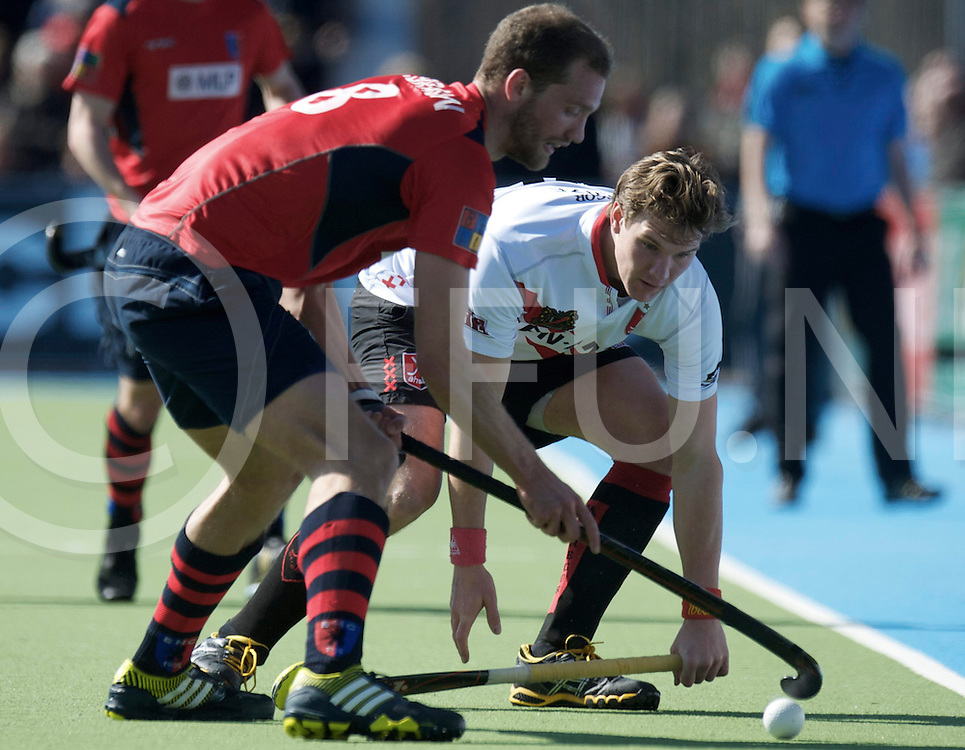Amstelveen - Euro Hockey league KO16.Amsterdamse H&BC - Berliner HC.foto: Hidde Kruize..FFU PRESS AGENCY COPYRIGHT FRANK UIJLENBROEK.