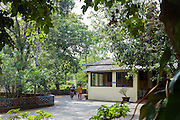 Kaivalyadhama, Lonavla, Maharashtra, Indien.
