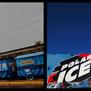 DAILY VENEZUELA II / VENEZUELA COTIDIANA II<br /> Photography by Aaron Sosa <br /> <br /> Left: Guasdualito, Apure State - Venezuela 2007 / Guasdualito, Estado Apure - Venezuela 2007<br /> <br /> Right: Venezuelan beer advertising, Cua, Miranda State - Venezuela 2008 / Publicidad de cerveza venezolana, Cua, Estado Miranda - Venezuela 2008<br /> <br /> (Copyright © Aaron Sosa)