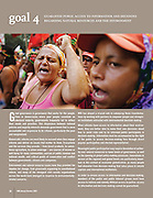 World Resources Institute - USA. &quot;Vision for a sustainable planet, pratical solutions for people.&quot;<br /> (World March of Women during Brazilian Women's Day)<br /> WRI Annual Review 2007