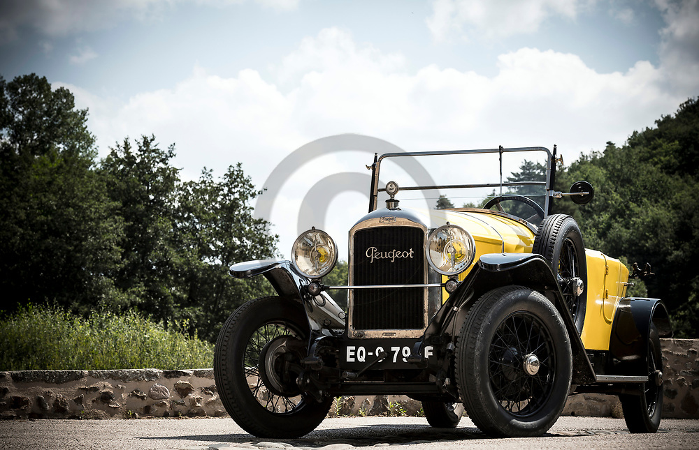 23/07/18 - DOMEYRAT - HAUTE LOIRE - FRANCE - Essais PEUGEOT 173S de 1923 - Photo Jerome CHABANNE