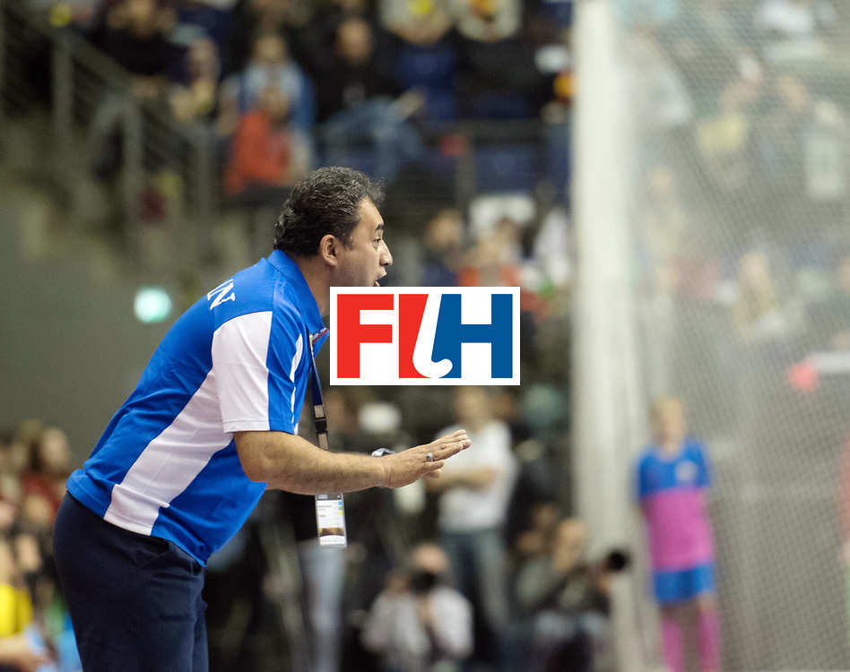 BERLIN - Indoor Hockey World Cup<br /> Bronze: Iran - Australia<br /> foto: SAFAEI Esfandyar<br /> WORLDSPORTPICS COPYRIGHT FRANK UIJLENBROEK