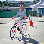 Man on a Bike, Art Basel Miami 2017