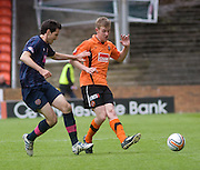 Paul Dixon and Ryan McGowan - Dundee United v Hearts, Clydesdale Bank Scottish Premier League at Tannadice Park..© David Young Photo.5 Foundry Place.Monifieth.Angus.DD5 4BB.Tel: 07765252616.email: davidyoungphoto@gmail.com.http://www.davidyoungphoto.co.uk