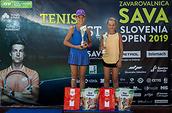 Tenis Fest U12 B Group Trophy ceremony during ATP Challenger Zavarovalnica Sava Slovenia Open 2019, day 7, on August 15, 2019 in Sports centre, Portoroz/Portorose, Slovenia. Photo by Vid Ponikvar / Sportida
