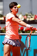 Carla Suarez Navarro during day two of the Madrid Open at Manzanares Park Tennis Centre, Madrid<br /> Picture by EXPA Pictures/Focus Images Ltd 07814482222<br /> 03/05/2016<br /> ***UK & IRELAND ONLY***<br /> EXPA-ESP-160503-0028.jpg