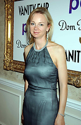 The COUNTESS OF DERBY at a party hosted by Dom Perignon and Vanity Fair magazine to celebrate the launch of a unique collection of essays based on the theme of seduction to raise money for the charity English Pen. The paty was held at the Dom Perignon Mallroom,  13 Grosvenor Crescent, London W1 on 8th September 2004.