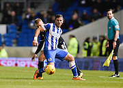 Brighton goal scorer Tomer Hemed during the Sky Bet Championship match between Brighton and Hove Albion and Brentford at the American Express Community Stadium, Brighton and Hove, England on 5 February 2016. Photo by David Charbit.