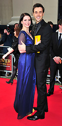 © under license to London News Pictures. 08/03/11.Emma Williams and Michael Xavier Attends The Olivier Awards at Theatre Royal Drury Lane London . Photo credit should read ALAN ROXBOROUGH/LNP