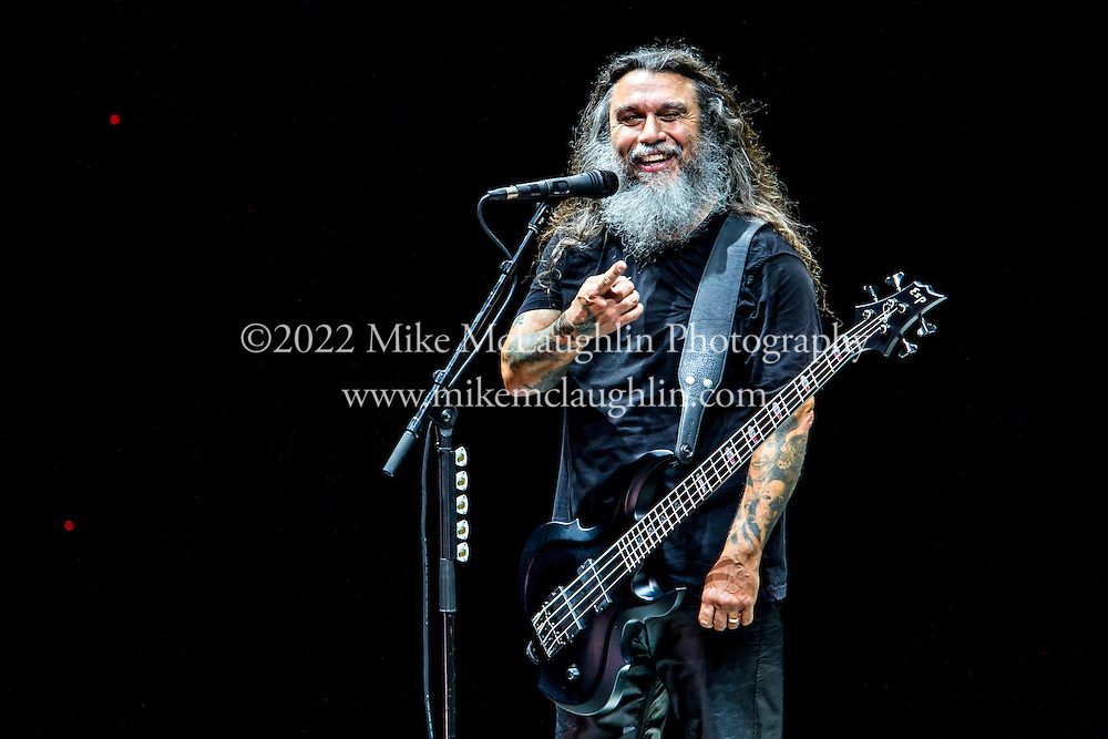 July 21, 2015 Holmdel, NJ.<br /> Slayer perform during the Rockstar Energy Mayhem Festival at PNC Arts Center in Holmdel, New Jersey.<br /> &copy;2015 Mike McLaughlin<br /> www.mikemclaughlin.com<br /> All Rights Reserved