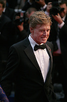 Actor Robert Redford.at the All Is Lost film gala screening at the Cannes Film Festival Wednesday 22nd May 2013