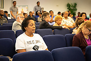 Sharon Lavigne, founder of Rise St. James,  a Concerned Citzens of St. John meeting on July 24, 2019.