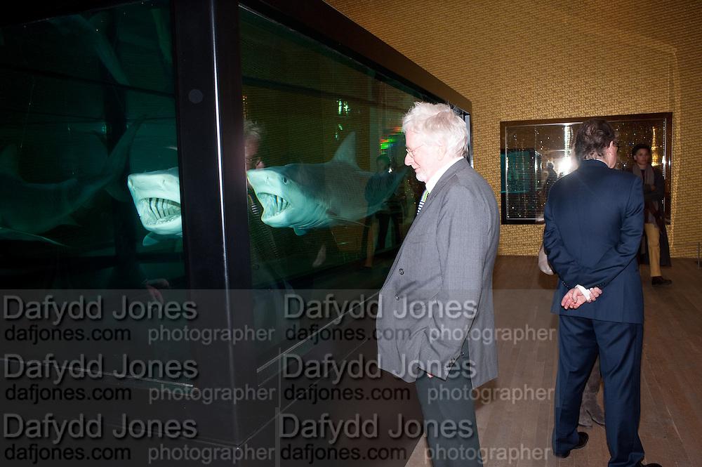 HUGH HUDSON, Damien Hirst, Tate Modern: dinner. 2 April 2012.