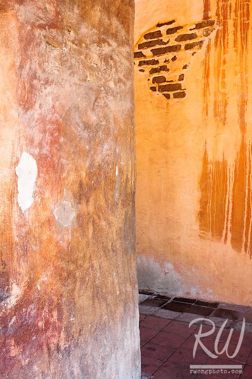 Old Walls, Mission San Juan Capistrano, California