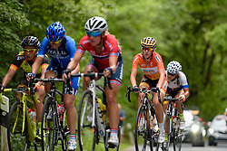 Demi de Jong (Boels Dolmans) taps out a steady rhythm on the climbs at Thüringen Rundfarht 2016 - Stage 2 a 103km road race starting and finishing in Erfurt, Germany on 16th July 2016.