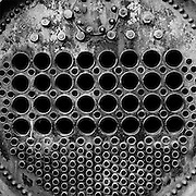 Internal view of a large 30 Class boiler