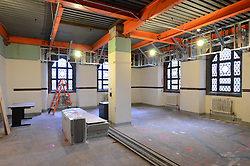 Sterling Memorial Library SML Tech Services Construction Progress. Third Photo Submission. First Floor.