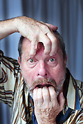 "SAN SEBASTIAN, SPAIN - SEPTEMBER 25:  US director Terry Gilliam poses during a photo session at the Hotel Maria Crsitina to promote ""The Imaginarium of Dr. Parnassus"" during the 57th San Sebastian Film Festival on September 25, 2009 in San Sebastian, Spain.  (Photo by Markel Redondo/Getty Images)"