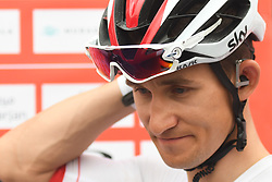 March 1, 2019 - Ajman, United Arab Emirates - Michal Kwiatkowski of Poland and Team SKY, seen at the start line of the sixth Rak Properties Stage of UAE Tour 2019, a 180km with a start from Ajman and finish in Jebel Jais. .On Friday, March 1, 2019, in Ajman, Ajman Emirate, United Arab Emirates. (Credit Image: © Artur Widak/NurPhoto via ZUMA Press)