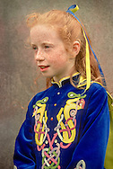 girl in Irish dancing contest at Agricultural Show