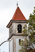 Church belfry in Coimbra, Portugal