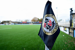A general view of Hayes Lane prior to kick off - Mandatory by-line: Ryan Hiscott/JMP - 19/11/2019 - FOOTBALL - Hayes Lane - Bromley, England - Bromley v Bristol Rovers - Emirates FA Cup first round replay