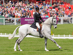 New Zealand's Andrew Nicholson is one of two riders chasing the Rolex Grand Slam at Mitsubishi Motors Badminton Horse Trials, Friday May 3rd 2013, UK. Photo by: Nico Morgan / i-Images