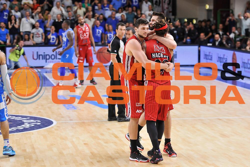 DESCRIZIONE : Campionato 2014/15 Serie A Beko Semifinale Playoff Gara4 Dinamo Banco di Sardegna Sassari - Olimpia EA7 Emporio Armani Milano<br /> GIOCATORE : Daniel Hackett<br /> CATEGORIA : Ritratto Delusione Rissa Espulsione<br /> SQUADRA : Olimpia EA7 Emporio Armani Milano<br /> EVENTO : LegaBasket Serie A Beko 2014/2015 Playoff<br /> GARA : Dinamo Banco di Sardegna Sassari - Olimpia EA7 Emporio Armani Milano Gara4<br /> DATA : 04/06/2015<br /> SPORT : Pallacanestro <br /> AUTORE : Agenzia Ciamillo-Castoria/L.Canu<br /> Galleria : LegaBasket Serie A Beko 2014/2015