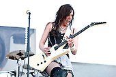 Halestorm at Carolina Rebellion on May 7, 2011