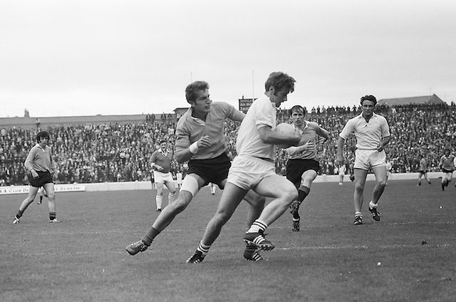 08.08.1971 Football All Ireland Junior Semi Final Mayo Vs Tyrone..Senior Team?
